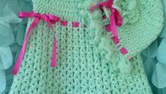 Rengarenk Örgü Elbiseler