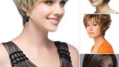 Bayan Kısa Saç Modelleri 2017