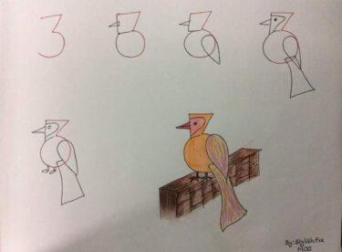 Çocuklara Kolay Resim Çizmeyi Öğretmek