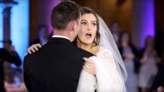 Gelin Düğünün Mahvolduğunu Düşünüyordu  Öyle Bir Sürprizle Karşılaştı Ki Gelin Gözyaşlarına Boğuldu