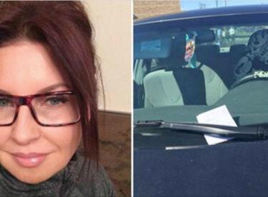 Restoranın Yanına Aracını Park Eden Kadın Aracının Sileceğine Sıkıştırılmış Notu Görünce Çok Şaşırdı