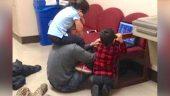 Bakıcısı Olmadığından Çocuklarını Üniversiteye Getirdi – Profesör Durumu Anlayınca Bakın Ne Yaptı
