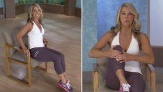 Sandalyede Otururken Yapacağınız Bu 5 Hareketle Hemen Vücudunuzu Şekle Sokun