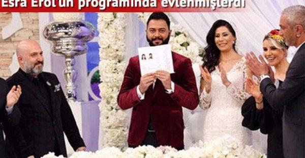 Esra Erol'un programında evlenmişlerdi! Berke'nin yaptığı başvuru herkesi şoke etti