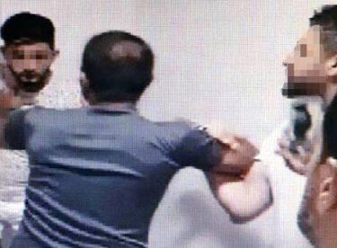 'Kız tavlıyoruz' diye video yayınlayan Suriyelileri dövüp görüntüsünü paylaştılar