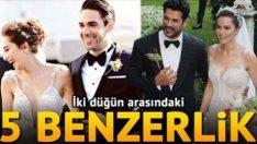 Fahriye Evcen ile Burak Özçivit evlendi… Bu fotoğraflar 'benzerlik' tartışması yarattı!