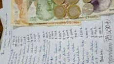 Yuva Kurmaya Çalışan Gencin Eline Kız Tarafının Verdiği Liste ve Gencin Mevcut Parası