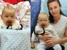 Antalya'da beyin kanaması geçiren bebek için bakıcıya suç duyurusu
