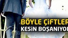 Böyle Çiftler Kesin Boşanıyor