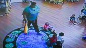 Kreşteki Güvenlik Kamerasına Takılanlar İzleyenleri Dehşete Düşürdü