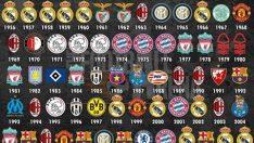 Doğduğunuz yıl hangi takım Şampiyonlar Ligi'ni kazanmıştı?