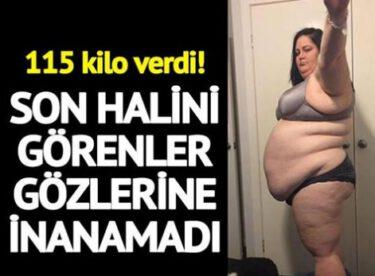 İnanılmaz diyet… 115 kilo verdi! Şimdi maraton koşuyor!