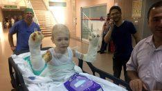 Mucize çocuğa 31'inci ameliyat!