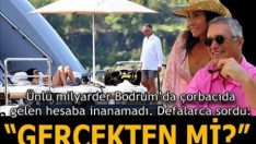 Meksikalı milyarder Bodrum'dan ayrılamadı