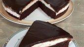 Bitter Çikolatalı Pasta
