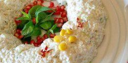 Kabaklı Yoğurtlu Kuskus Salatası