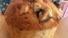 Portakallı, Cevizli, Kuru Üzümlü Muffin