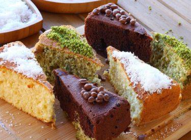 Üç renkli kek