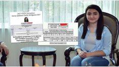 Nuriye Kalkmaz: Hacettepe'de sınava girdim