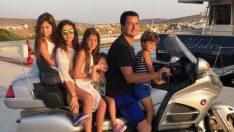 Kızlarını ve yeğenlerini bir araya toplayan Ilıcalı, sosyal medyadan aile pozu verdi