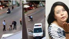 Yerde yatan kadına copla dayak! 2 polis açığa alındı