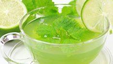 Yeşil Çay, Limon, Maden Suyu ile 15 Günde 5 Kilo Verdiren Zayıflama Çayı