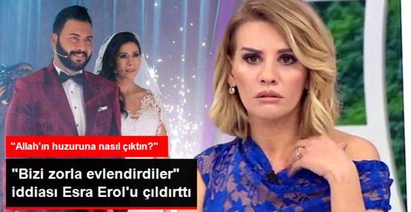 """""""Bizi Zorla Evlendirdiler"""" Diyen Berke'ye Esra Erol'dan Sert Yanıt"""