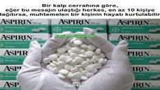 Neden yatağınızın başucunda aspirin olsun? Bu Bigileri Öğrendiğinizde Hayatınız Kurtulabilir