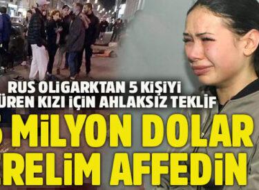 Zengin İş Adamının Şımarık Kızı 5 kişiyi Öldürmüştü, Babası: 1.5 Milyon Dolar Verelim Affedin