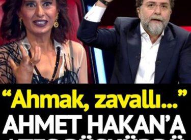 Yıldız Tilbe Twitter'dan Ahmet Hakan'a fena saydırdı: 'Erkek değilsin, ahmak, zavallı'