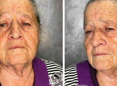 Stilist Torun Anneannesini Tepeden Tırnağa Böyle Değiştirdi