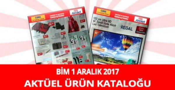 Bim 1 Aralık 2017 Aktüel Ürünler Kataloğu