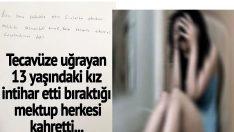 13 yaşındaki kız okulda t*cavüze uğradı. İntih*r etti. Ailesi odasını toplarken bir mektup buldu. Aile mektubu sonuna kadar okuyunca yıkıldı…