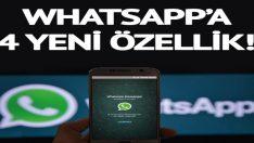 Whatsapp'ta her şey sil baştan değişiyor! WhatsApp'a 4 yeni özellik! Engellediğiniz kişiler…