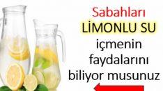 Sabahları İçtiğiniz Limonlu Su Bakın Vücudunuza Neler Yapıyor