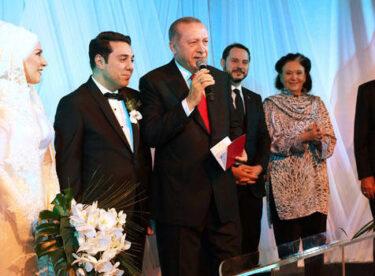 Ünlü sanatçı kızını evlendirdi, nikah şahidi Cumhurbaşkanı Erdoğan oldu.