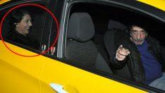 Taksi şoförü, Meltem Cumbul'u tanıyınca olanlar oldu