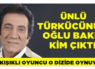 Ünlü türkücü İzzet Altunmeşe'nin  oğlu bakın kim çıktı