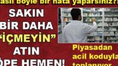 Sağlık Bakanlığın'dan ŞOK Uyarı! Bu İlaçlar MEĞER Ölüm Saçıyormuş.. İşte O ilaçların Tam Listesi