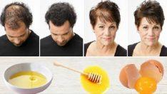 Yumurta Sarısı Hem Saç Dökülmesi Hem de Gür ve Sağlıklı Saçlar İçin Allah'ın Bir Lütfu
