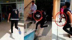 Sakarya'da YKS için gerekli evrağını unutan öğrencinin yardımına polis yetişti
