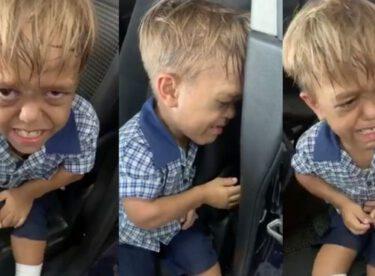 Cüce olduğu için arkadaşları alay edince çocuk bakın nasıl isyan etti buna yürek dayanmaz